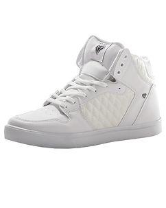 CASH MONEY Gadwal Sneakers Jailor Full White