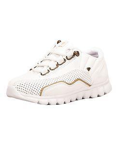 CASH MONEY Ventura Sneakers White/Gold