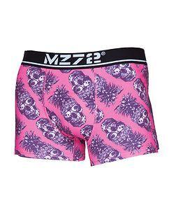 MZ72 Brand PINEAPPLE BOKSERIT - Vaaleanpunainen
