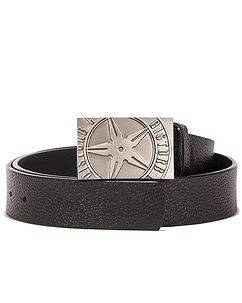 Disturb Clothing Throwing Star Belt Black