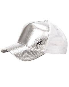 Disturb Clothing Throwing Star Cap White/Silver