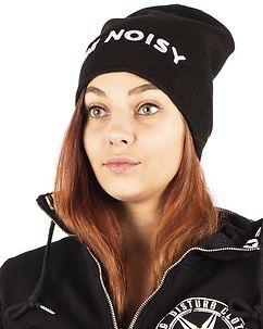 Noisy May Snoop Knit Hat Black