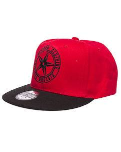 Disturb Clothing Red Logo Snapback