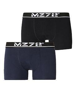 MZ72 Brand MZGZ Boxer Double Pack Black/Navy