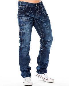 Kosmo Lupo KM-040 Jeans Denim Blue