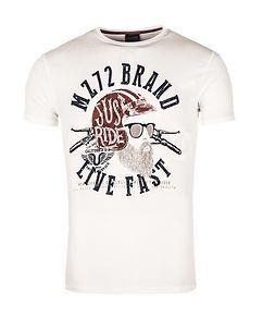 MZ72 Brand The Knife T-Shirt White