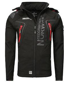 Geographical Norway Tambour-Taco Softshell Jacket Black