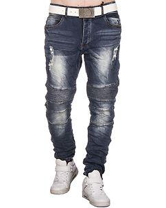 Justing Cason Loose Fit Jeans Denim Blue