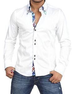Carisma Declan Shirt White