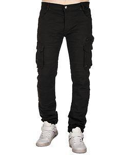 MZ72 Brand Etna Cargo Pants Black