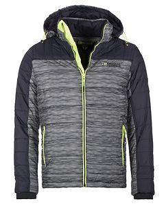 Geographical Norway Bittel Winter Jacket Navy Melange