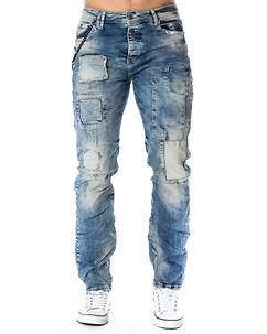 Cipo & Baxx CD254 Jeans Denim Blue