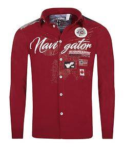 Geographical Norway Zariminel Shirt Red