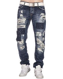 Cipo & Baxx CD126 Jeans Denim Blue