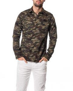 Cipo & Baxx CH130 Shirt Khaki Camo