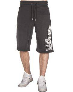 Disturb Clothing Awefuckingsome Athletic Shorts Anthracite