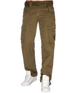 Geographical Norway Pomelo Cargo Pants Brown