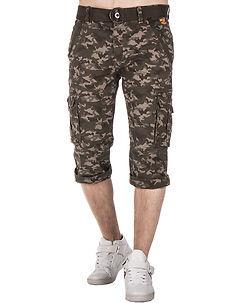 MZ72 Brand Oron Shorts Khaki Camo