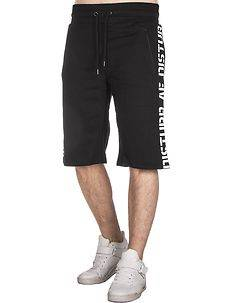 Disturb Clothing Disturb AF Athletic Shorts Black/White