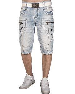 Cipo & Baxx CK131 Denim Shorts Light Blue