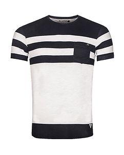 MZ72 Brand Tamark T-Shirt White/Navy