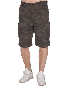 MZ72 Brand Foy Shorts Black Camo