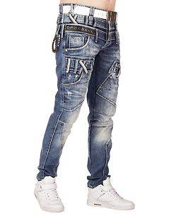 Cipo & Baxx CD466 Jeans Denim Blue