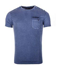 MZ72 Brand Tree T-Shirt Ashes Blue