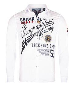 Geographical Norway Zoliday Shirt White
