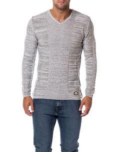 Cipo & Baxx CP121 Knit Light Grey