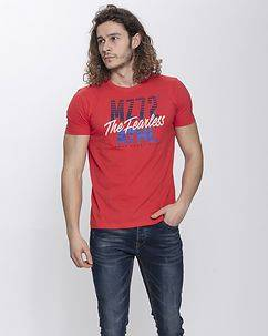 MZ72 Brand The Line T-Shirt Red
