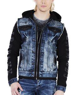Cipo & Baxx CJ154 Jacket Blue