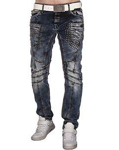 Cipo & Baxx CD418 Jeans Dark Denim