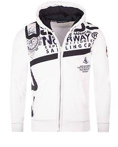 Geographical Norway Gilba Hoodie White