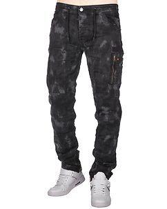 MZ72 Brand Eliot Pants Black Camo