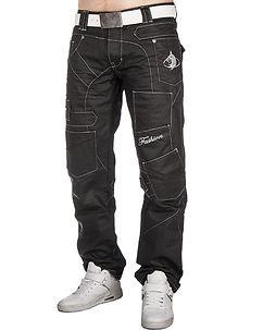 Kosmo Lupo KM-120 Jeans Black