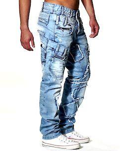 Cipo & Baxx C-989 Jeans Light Denim Blue