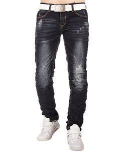 MZ72 Brand Writer Jeans Denim Blue