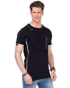 Cipo & Baxx CT366 T-Shirt Black