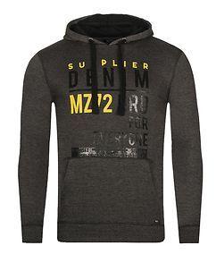 MZ72 Brand Jess Hoodie Grey Melange