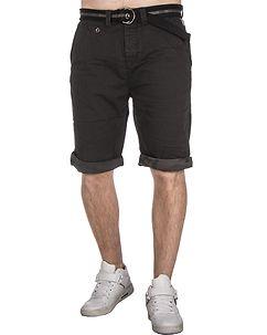 MZ72 Brand Flax Shorts Black Caviar