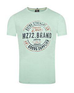 MZ72 Brand The Race T-Shirt Light Blue