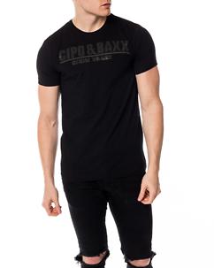 Cipo & Baxx CT358 T-Shirt Black