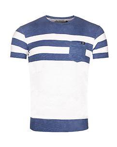 MZ72 Brand Tamark T-Shirt White/Blue