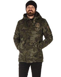 MZ72 Brand Lojungle Winter Jacket Camo