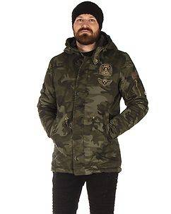 MZ72 Brand Lojungle Winter Jacket Camo