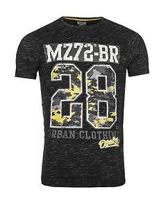 MZ72 Brand The Check T-Shirt Black