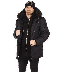 MZ72 Brand Lucky Winter Jacket Dark Navy