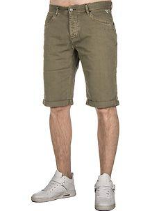 MZ72 Brand Alain Bermuda Shorts Olive