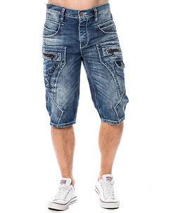 Cipo & Baxx CK101 Denim Shorts Blue